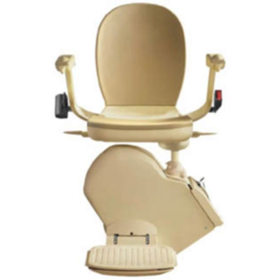 THE BROOKS 130 STRAIGHT STAIRLIFT
